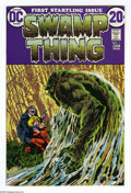 Bronze Age (1970-1979):Horror, Swamp Thing #1 Group (DC, 1972) Condition: Average VF+. This groupcontains four copies of issue #1. Features his origin. Be... (4Comic Books)