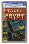 Golden Age (1938-1955):Horror, Tales From the Crypt #22 (EC, 1951) CGC FN/VF 7.0 Cream tooff-white pages. Al Feldstein cover. Feldstein, Graham Ingels,Ja...