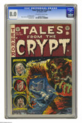Golden Age (1938-1955):Horror, Tales From the Crypt #35 (EC, 1953) CGC VF 8.0 Off-white to whitepages. Jack Davis cover. Davis, Joe Orlando, Jack Kamen, a...