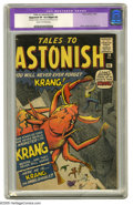 Silver Age (1956-1969):Horror, Tales to Astonish #14 (Marvel, 1960) CGC Apparent VF 8.0 Slight (A)Cream to off-white pages . Jack Kirby, Dick Ayers, and S...