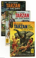 Silver Age (1956-1969):Adventure, Tarzan Group (Dell, 1966-68) Condition: Average FN. Russ Manning art is featured in this seven-issue lot, which includes #15... (7 Comic Books)