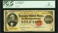 Large Size:Gold Certificates, Fr. 1210 $100 1882 Gold Certificate PCGS Fine 12.. ...