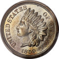 Proof Indian Cents, 1859 1C PR66 PCGS....