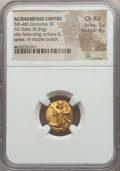Ancients:Greek, Ancients: ACHAEMENID PERSIA. Time of Darius I to Xerxes II (485-420BC). AV daric (8.34 gm). NGC Choice AU 5/5 - 4/5....