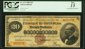 Large Size:Gold Certificates, Fr. 1176 $20 1882 Gold Certificate PCGS Fine 15.. ...