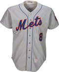 Baseball Collectibles:Uniforms, 1973-74 Yogi Berra Game Worn New York Mets Coach's Jersey. . ...