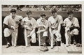 Baseball Collectibles:Photos, 1938 New York Yankees Original Photograph with DiMaggio, Gehrig,Ruffing, Dickey & Pearson, PSA/DNA Type 1. . ...