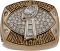 """Football Collectibles:Others, 2002 Tampa Bay Buccaneers Super Bowl XXXVII Championship """"A-Version"""" Ring.. ..."""
