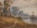 Paintings, William Franklin Jackson (American, 1850-1936). Sacramento River and Below Sacramento (two works). Oil on canvas lai... (Total: 2 Items)