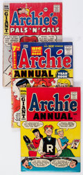 Silver Age (1956-1969):Humor, Archie Annuals Group of 9 (Archie, 1950s-60s) Condition: Average GD.... (Total: 9 Comic Books)