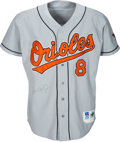 Baseball Collectibles:Uniforms, 1996 Cal Ripken, Jr. Game Worn & Signed Baltimore Orioles Jersey with Team Letter.. ...
