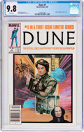 Modern Age (1980-Present):Science Fiction, Dune #1 (Marvel, 1985) CGC NM/MT 9.8 White pages....