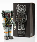 Fine Art - Sculpture, American:Contemporary (1950 to present), KAWS X Lucas Films. Boba Fett, 2013. Painted cast vinyl. 11x 5 x 4 inches (27.9 x 12.7 x 10.2 cm). Stamped on the under...