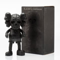Collectible, KAWS X Pushead. Companion (Black), 2005. Cast vinyl. 10-1/2 x 5-1/2 x 3-1/2 inches (26.7 x 14 x 8.9 cm). Stamped to the ...