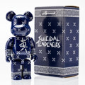 Fine Art - Painting, Russian:Contemporary (1950 to present), BE@RBRICK X Suicidal Tendencies. Suicidal Tendencies BE@RBRICK400% , 2009. Painted cast resin. 10-1/2 x 5-1/4 x 3-1/2 i...