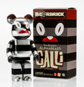 Collectible, BE@RBRICK X Tim Biskup. Alpha Beast Calli 400%, 2007. Painted cast vinyl. 10-1/2 x 5-1/4 x 3-1/2 inches (26.7 x 13.3 x 8...