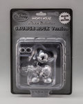 Collectible, Disney. Mickey Mouse, Grunge Rock Version, 2012. Painted cast vinyl. 7-1/2 x 5-1/2 x 3 inches (19.1 x 14.0 x 7.6 cm) (bo...