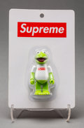 Fine Art - Work on Paper:Print, Supreme X Jim Henson's Muppets. Kermit the Frog, 2008. Painted cast vinyl. 6 x 4 x 1 inches (15.2 x 10.2 x 2.5 cm). Publ...