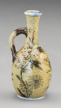 Ceramics & Porcelain, British:Antique  (Pre 1900), Diminutive Martin Brothers Glazed Stoneware Ewer. Circa 1900.Incised Martin Bros., London. Ht. 3-1/2 ...