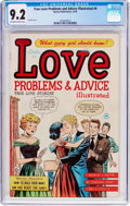 Golden Age (1938-1955):Romance, True Love Problems and Advice Illustrated #4 (Harvey, 1949) CGC NM- 9.2 Off-white to white pages....