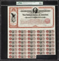 Large Size:Federal Proofs, $20 Spanish-American War 3% Coupon Bond of 1898 Hessler X188G.. ...