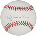 Autographs:Baseballs, Mariano Rivera Single Signed Baseball. . ...