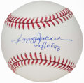 "Autographs:Baseballs, Reggie Jackson ""HoF 93"" Single Signed Baseball. ..."