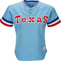 "Baseball Collectibles:Uniforms, 1976 Lenny Randle Game Worn Texas Rangers Jersey Signed ""Game Used1976."" . ..."