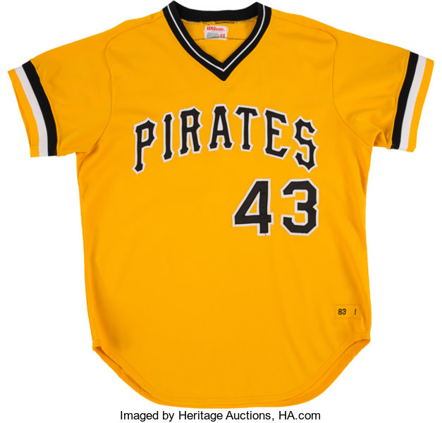 uk availability 7722d caab4 1983 Don Robinson Game Worn Pittsburgh Pirates Jersey ...