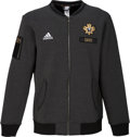 Basketball Collectibles:Others, 2016 Anthony Davis Game Worn All-Star Game Warmup Jacket.. ...
