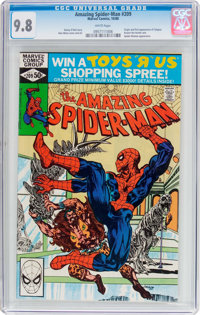 The Amazing Spider-Man #209 (Marvel, 1980) CGC NM/MT 9.8 White pages