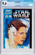 Modern Age (1980-Present):Science Fiction, Star Wars #0 (Dark Horse, 1997) CGC NM+ 9.6 White pages....