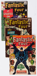 Silver Age (1956-1969):Superhero, Fantastic Four Group of 5 (Marvel, 1964-66) Condition: Average GD.... (Total: 5 Comic Books)