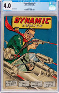 Golden Age (1938-1955):Superhero, Dynamic Comics #9 (Chesler, 1944) CGC VG 4.0 Off-white pages....