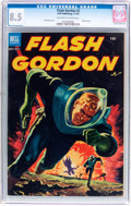 Golden Age (1938-1955):Science Fiction, Flash Gordon #2 (Dell, 1953) CGC VF+ 8.5 Off-white to whitepages....