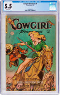 Golden Age (1938-1955):Western, Cowgirl Romances #6 (Fiction House, 1951) CGC FN- 5.5 Off-white pages....