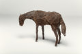 Post-War & Contemporary:Sculpture, Deborah Butterfield (b. 1949). Untitled (Small horse), 1980.Wire mesh. 36 x 42 x 18 inches (91.4 x 106.7 x 45.7 cm). ...