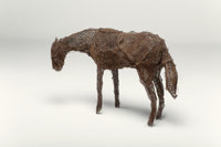 Deborah Butterfield (b. 1949) Untitled (Small horse), 1980 Wire mesh 36 x 42 x 18 inches (91.4 x