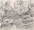 Fine Art - Work on Paper:Drawing, Tony Cragg (b. 1949). Untitled (#1851). Pencil on paper.11-1/2 x 12-3/4 inches (29.2 x 32.4 cm) (sheet). Signed lower r...