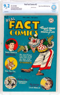 Golden Age (1938-1955):Non-Fiction, Real Fact Comics #2 Mile High Pedigree (DC, 1946) CBCS NM- 9.2White pages....