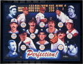 Baseball Collectibles:Others, Circa 2000 Perfect Game Pitchers Signed Limited Edition Giclee. ...