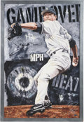 """Baseball Collectibles:Others, 2012 """"Game Over"""" Giclee Signed by Mariano Rivera and Artist Justyn Farano...."""