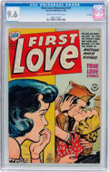 Golden Age (1938-1955):Romance, First Love Illustrated #31 File Copy (Harvey, 1953) CGC NM+ 9.6Cream to off-white pages....