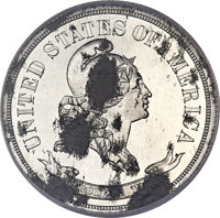 1870 50C Standard Silver Half Dollar, Judd-979, Pollock-1091, High R.7 -- Corroded -- NCS Details. Impaired Proof....(PC...
