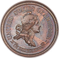 1870 10C Standard Silver Ten Cents, Judd-857, Pollock-937, R.8, PR63 Red and Brown NGC....(PCGS# 71101)
