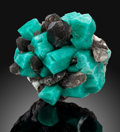 Minerals:Small Cabinet, Amazonite, Microline & Smoky Quartz. Smoky Hawk claim.Crystal Peak, Teller Co.. Colorado, USA. ...