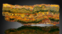 Tiger's-Eye Slab Mt. Brockman Station Pilbara Western Australia