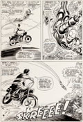 Original Comic Art:Panel Pages, Gene Colan and Frank Giacoia Tales of Suspense #84 Story Page 10 Iron Man Original Art (Marvel, 1966)....