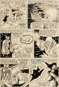 Original Comic Art:Panel Pages, Bill Everett Strange Tales #150 Story Page 5 Doctor Strange Original Art (Marvel, 1966)....