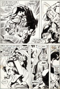 Original Comic Art:Panel Pages, Gene Colan and Syd Shores Daredevil #73 Story Page 15 IronMan Original Art (Marvel, 1971)....